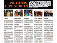 Five Bands, Five Stories